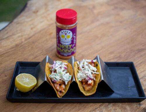 Voodoo Shrimp Tacos