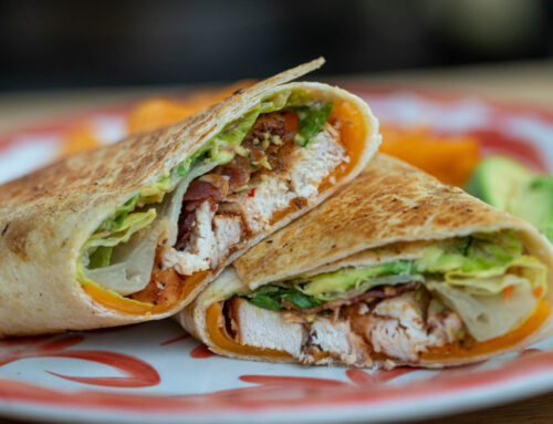 Chipotle Ranch Chicken Wraps